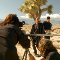 U2, Bono, The Edge, Death Valley, Joshua Tree, Lost TItle Tracks, short film, music video, desert, high desert